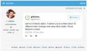 wpForo Embeds Twitter