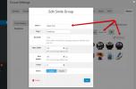 wpForo Emoticons Manage Groups Details