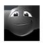 {black}:face: