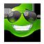 {green}:cool: