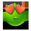 {green}:inlove: