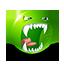{green}:rabid: