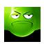 {green}:serious:
