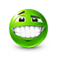 {green}:smile: